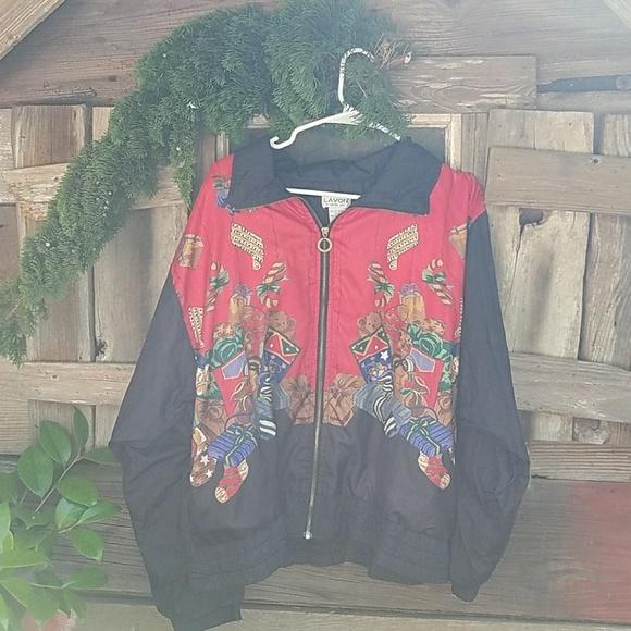 2dc255f39b2 Lavon by cheerful corp Jackets & Coats | Christmas Nylon Jacket ...